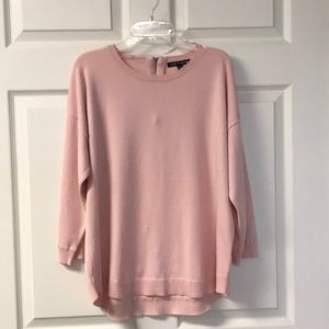 Cable and Gauge Sweater Pink sz XL